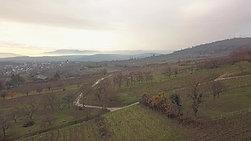 11 2020 Vidéo de drone, près de Molsheim