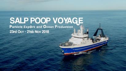 Salp POOP Voyage -Particle ExpOrt and Ocean Productivity. 23 Oct - 21 Nov 2018
