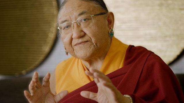 Blue Kangling Endorsement - His Holiness Sakya Trichen