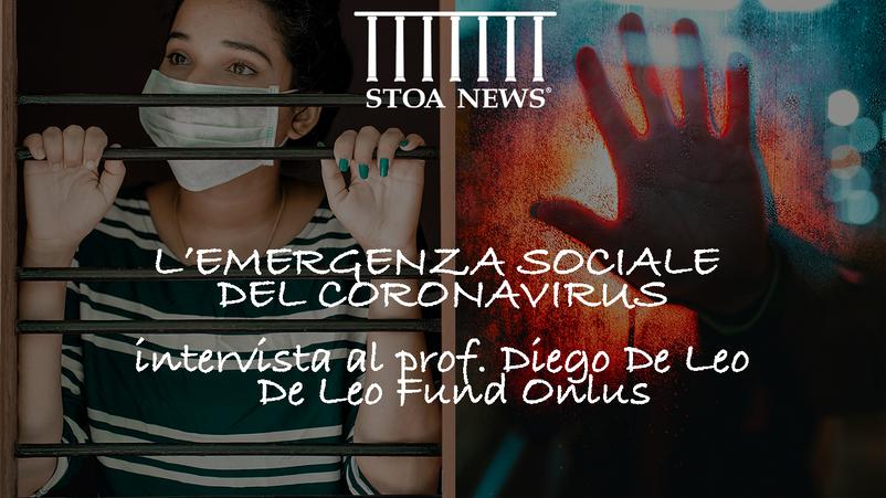 Covid-19 e l'emergenza sociale: ne parliamo con il Prof. Diego De Leo