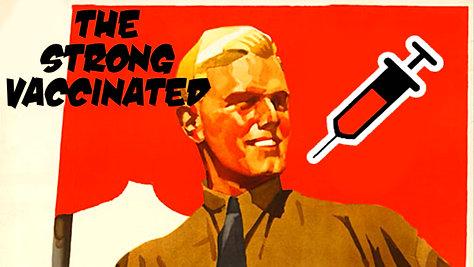 Neo-Vaxi Propaganda (We said 'Never again')