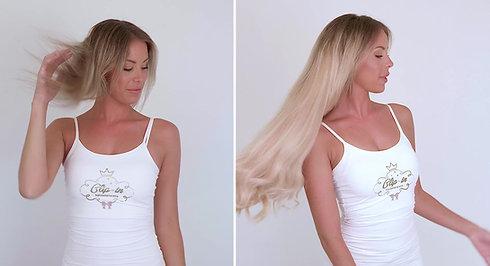 Krijg langer, voller haar met Clip-in Hairextensions