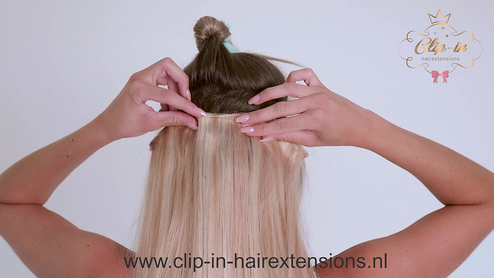 Instructie video Clip-in-Hairextensions