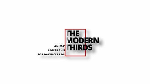 THE MODERN THIRDS For Davinci Resolve 16