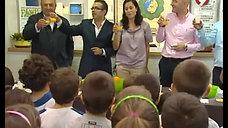La Horchata de Chufa de Valencia en el colegio de Hurchillo