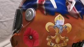 Kings/Duke of Lancashire Veterans Helmet