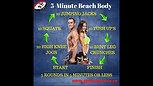 5-Minute Beach Body Video 1