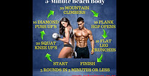 5-Minute Beach Body Video 2