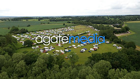 Statfold Barn Railway - Aerial Video for Land Hire