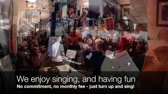 My Pub Choir - Advertisement Video