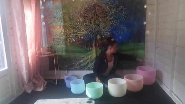 Sound bowls taster
