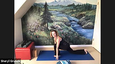Gentle 12/1/20 Heart opening, Camel pose, Bring in the Light