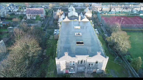 Aerial view of Victoria Road School