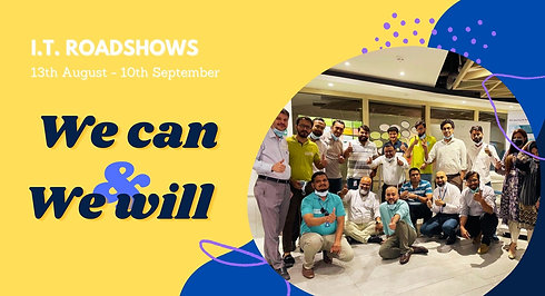Roadshows: We Can & We Will