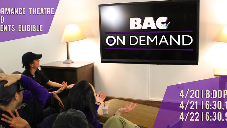 BAC Presents: On Demand (Spring 2017)