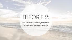 THEORIE 2: WIR SIND SCHWINGUNGSWESEN
