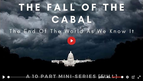 Fall of the Cabal S1-Part 5: CHILDREN, ART & PIZZA