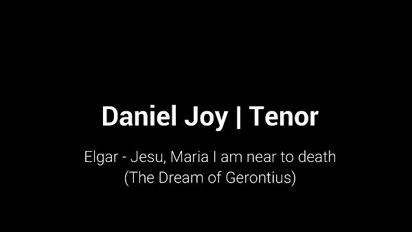 Elgar - Jesu, Maria I am near to death (The Dream of Gerontius)