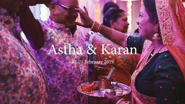 Astha + Karan