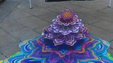 live paint 3D Mandalas