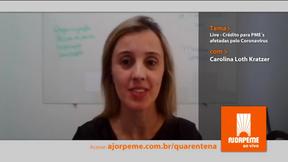 Ao vivo: Crédito para PME´s afetadas pelo Coronavírus