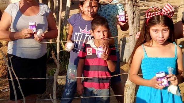 """""""Comida para Ninos"""" program in Sinaloa México"""
