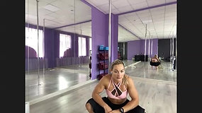 Pole Choreography with Special Guest Anete