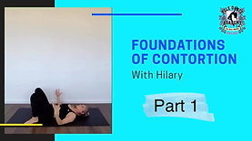 Part 1: Foundations of Contortion