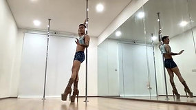 Pole Choreo Workshop with Special Guest Quan Bui