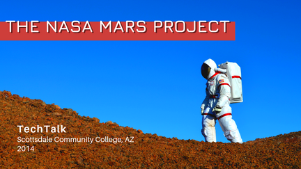 SCC TechTalks 2014: The NASA Mars Project (Sian Proctor)