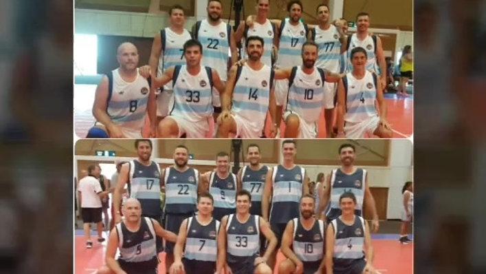 Equipo TIBURONES - Delegado Martín Biarnes - Argentina