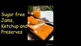 Sugar Free Jams,Ketchup and Preserves