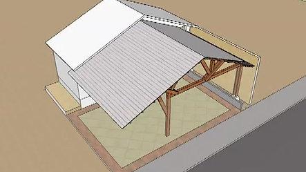 Projeto Telhado Garagem