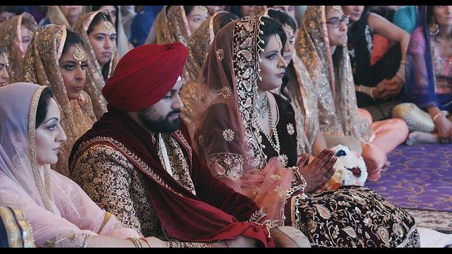 Manisha & Sumeet | Sikh Wedding Highlights