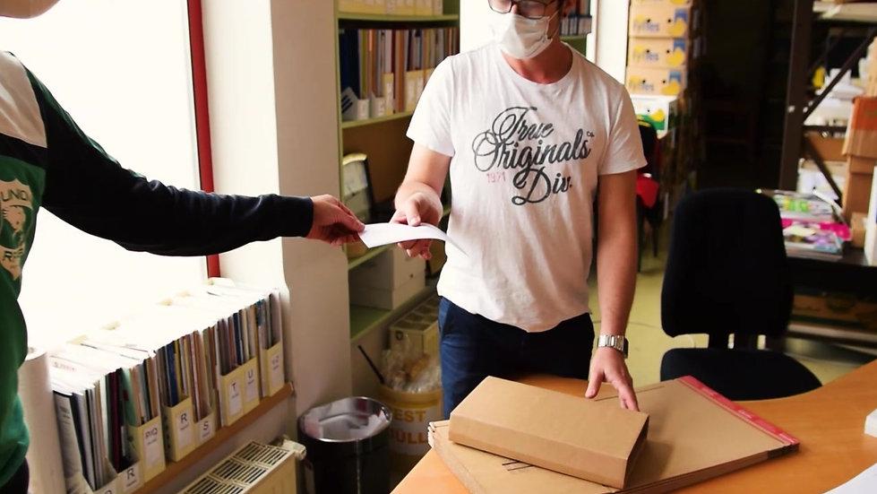 Buchvertrieb Klinger in action