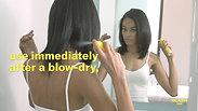 How to SHINE & GLAM hairspray