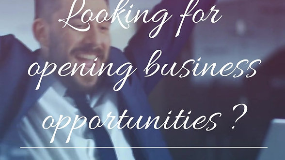 Looking for business opportunities?
