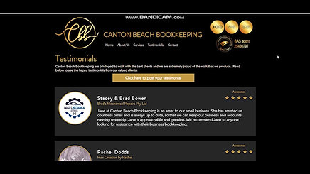A New Website for Canton Beach Bookkeeping