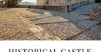 Исторический Замок недалеко от Рима
