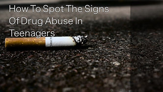 Signs Of Drug Abuse In Teenagers