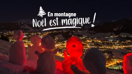 """France Montagnes, """"En Montagne, Noël est magique !"""" (Spot TV 25s)"""