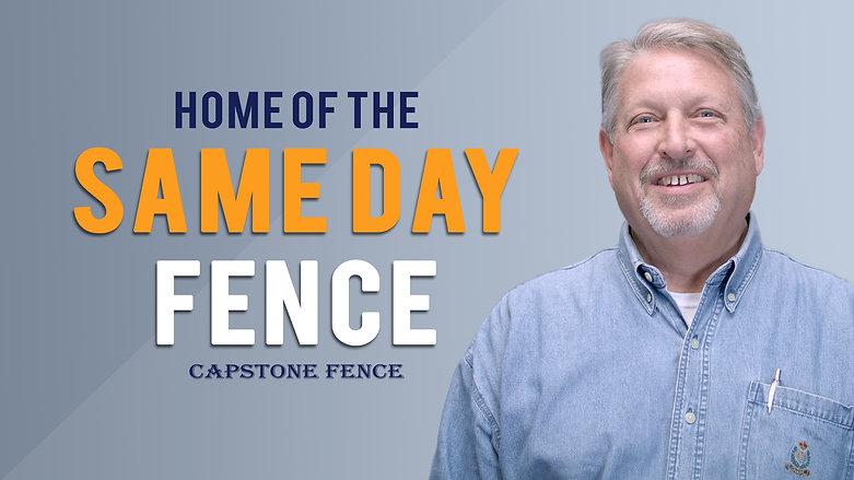 Capstone Fence