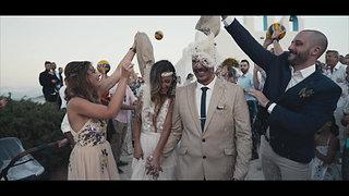Sofia & Stavros, wedding in Paros