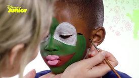 Muppet Babies Kermit Face Painting Tutorial