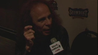 Ronnie James Dio-Final post-show interview