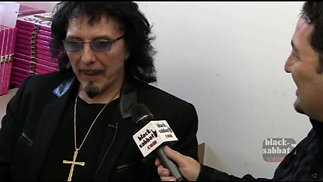 Tony Iommi book signing