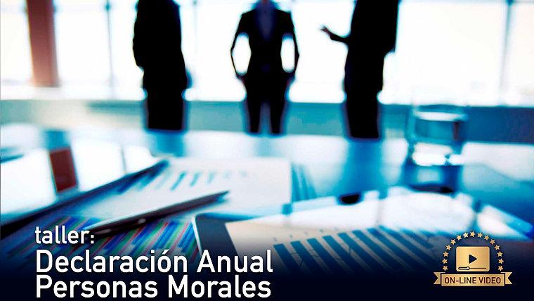 Anual Personas Morales