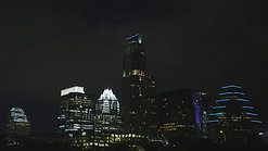 Austin Texas Skyline at Night by Calibrate Films