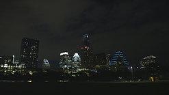 Austin Texas Skyline Night by Calibrate Films