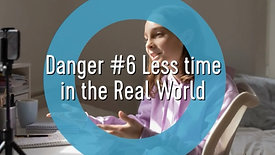 Teens and Social Media-Danger #6 Less Time in the Real World
